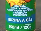 Gás usado em buzinas faz mais uma vítima no interior de São Paulo