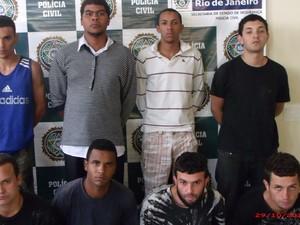 Presos serão transferidos para o Complexo Penitenciário de Gericinó (Foto: Polícia Civil/Divulgação)