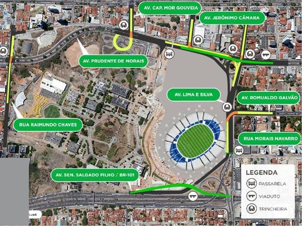 Mobilidade urbana e a Copa do Mundo Mapa-obrasmobilidade