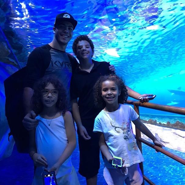 Ronaldo também é pai de Alex, Maria Sophia e Maria Alice (Foto: Reprodução Instagram)