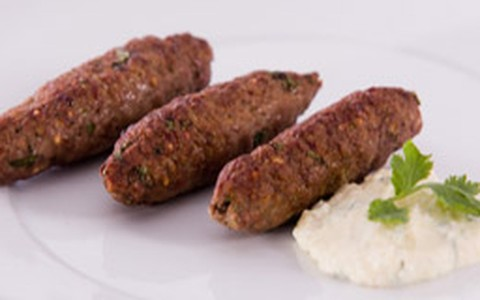Kebab com cream cheese