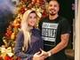 Ex-BBBs Aline e Fernando se derretem pelo filho: 'Já me sinto supermãe'