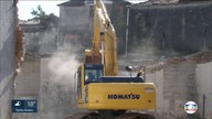 Demolição do primeiro prédio da região da Cracolândia termina com três pessoas feridas