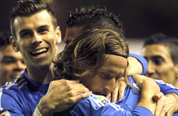 Cristiano Ronaldo Modric e Bale gol Real Madrid (Foto: Reuters)
