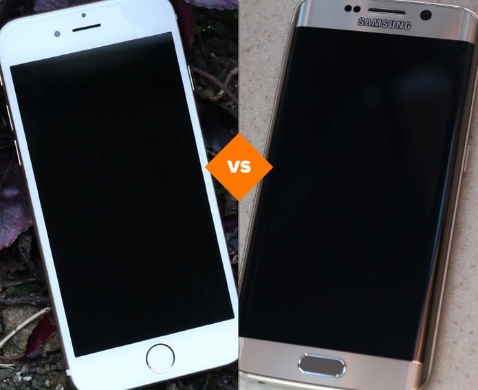 iPhone 6 vs Galaxy S6 Edge: qual top tem a melhor câmera (Foto: Arte/TechTudo)