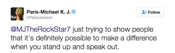 O desabafo de Paris Jackson, filha de Michael Jackson (Foto: Twitter)