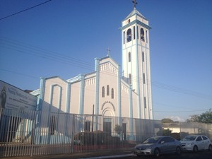 Igreja Nossa Senhora da Conceição, Trem, Macapá (Foto: Fabiana Figueiredo/G1)