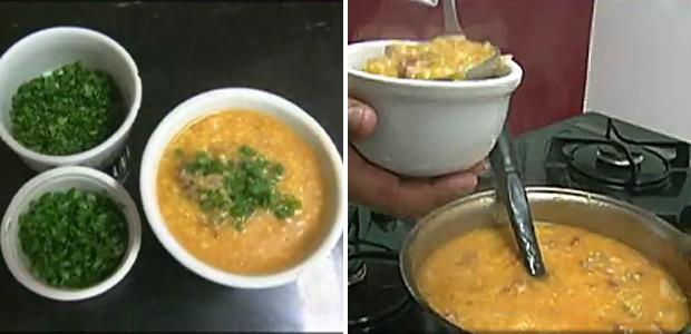 Minas Gerais - Chef ensina receita de canjiquinha com costelinha (Foto: Reprodução)