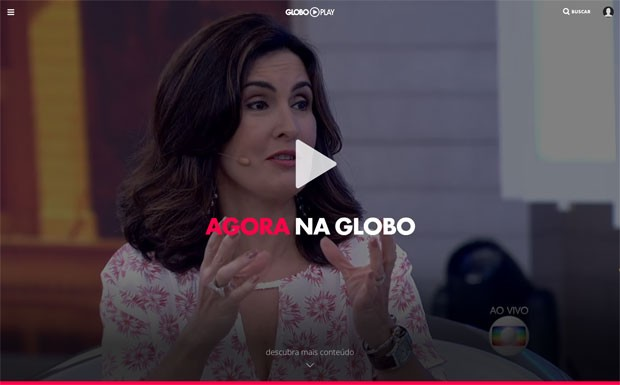 Fátima Bernardes apresenta o 'Encontro' (Foto: Reprodução/Globo Play)