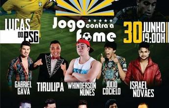 Com ingressos a R$ 5, partida reúne  Lucas Moura, Tirulipa e Israel Novaes