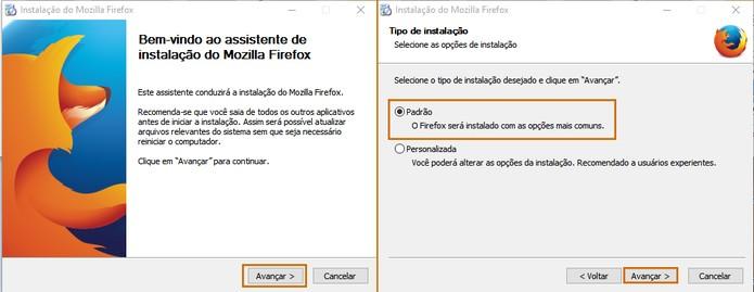 O instalador offline do Firefox será executado no computador (Foto: Reprodução/Barbara Mannara)