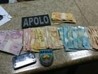 Homem é preso ao tentar subornar PMs com R$ 60 mil em Salvador
