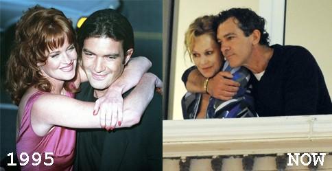 Melanie Griffith & Antonio Banderas, 1995 (Foto: .)
