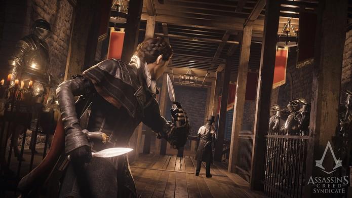 Aposte nas facas de arremesso para manter-se furtivo (Divulgação/Ubisoft_