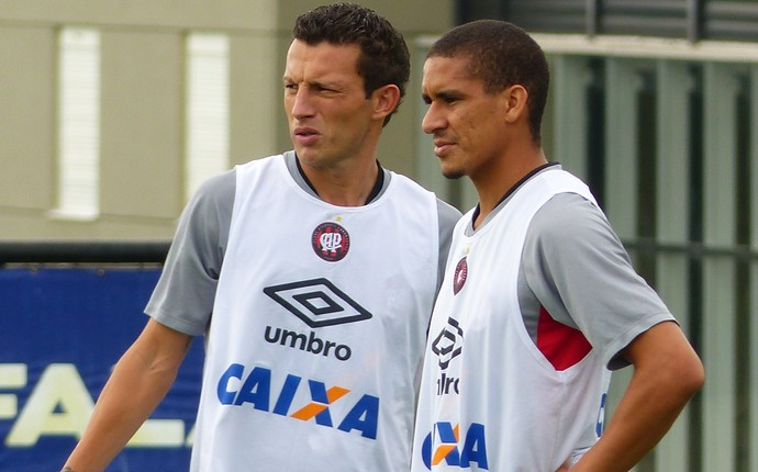 Gustavo Lula Atlético-PR (Foto: Monique Silva)