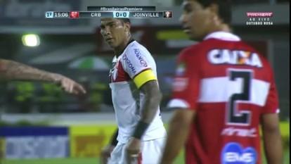 Confira os gols da vitória do CRB por 2 a 1 sobre o Joinville
