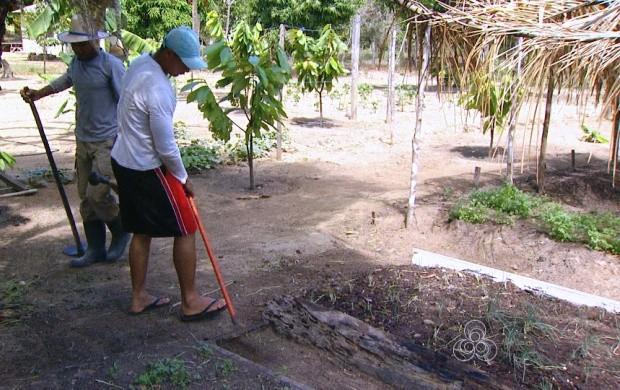 Trabalho voluntário ajuda na recuperação das pessoas (Foto: Bom Dia Amazônia)