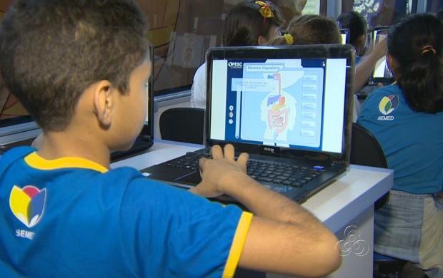 Projeto leva o estudo de ciências de forma dinâmica (Foto: Amazonas TV)