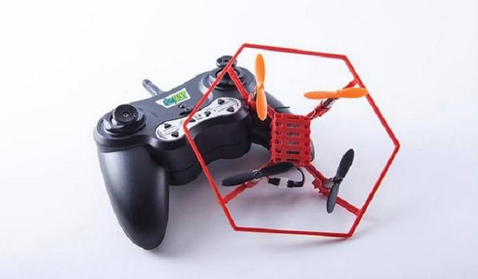 Skybot é fabricado com impressora 3D (Foto: Reprodução/Kickstarter) (Foto: Skybot é fabricado com impressora 3D (Foto: Reprodução/Kickstarter))
