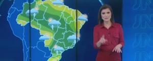 Saiba como ficará o tempo hoje  nas principais capitais do país (Reprodução/TV Globo)