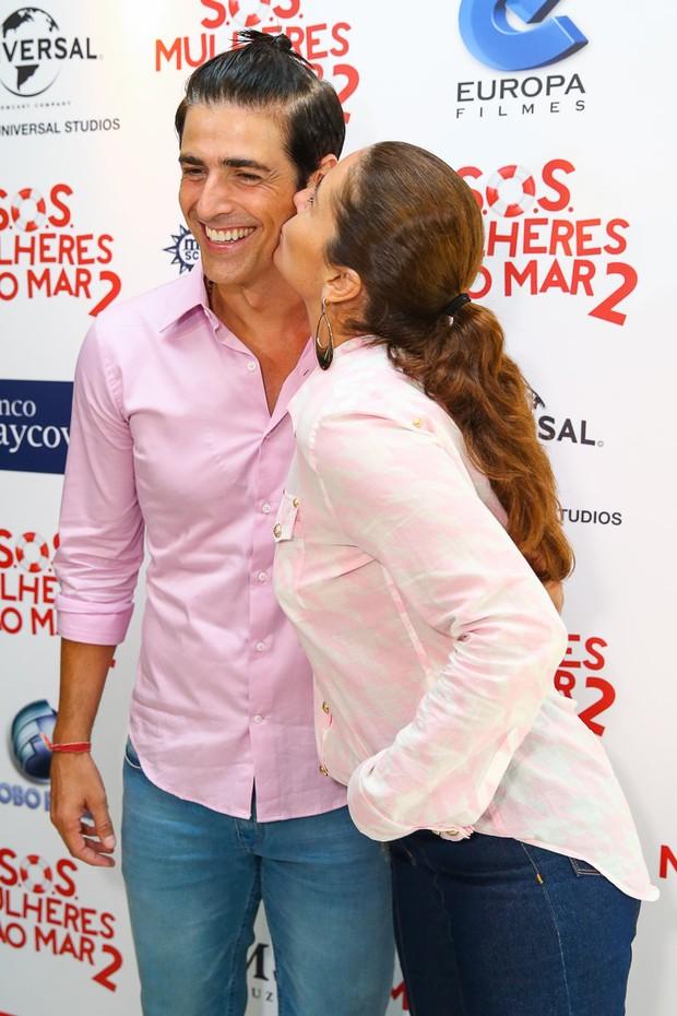 Giovanna Antonelli e Reynaldo Gianecchini (Foto: Manuela Scarpa/Photo Rio News)
