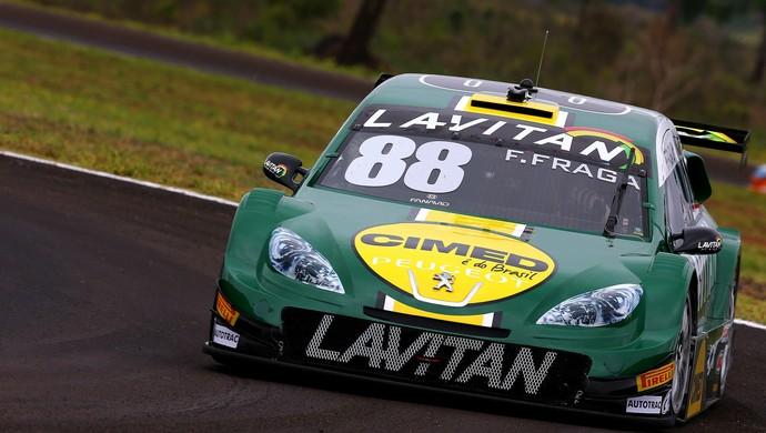 Felipe Fraga vai largar em 12º na corrida de Campo Grande (Foto: Carsten Horst/ Hyset/ RF1)