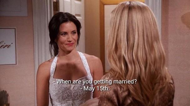 """Monica Geller em cena de """"Friends"""" (Foto: Reprodução)"""