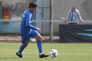Riveros retornou após lesão muscular (Foto: Eduardo Deconto/GloboEsporte.com)