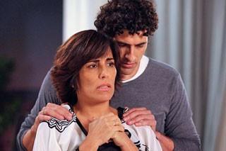 Roberta e Nando (Foto: TV Globo)