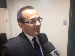 Promotor de Meio Ambiente, Marcelo Moreira (Foto: Dyepeson Martins/G1)