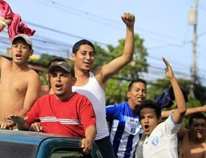Torcedores futebol Honduras (Foto: EFE)