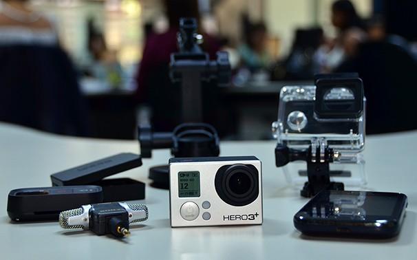 Equipamento possibilita captura de imagens em novos ângulos (Foto: Marketing / TV Fronteira)