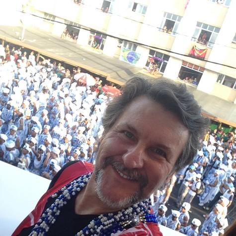 Antônio Calloni em Salvador (Foto: Arquivo pessoal)