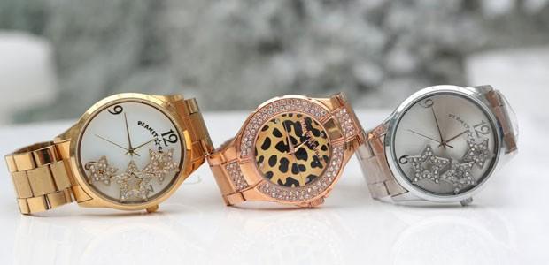 Um charme a mais em qualquer modelito, os relógios são indispensáveis (Foto: Divulgação)