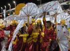 Escola de Samba Emissários da Cegonha (Gabriel Penha/G1-AP)