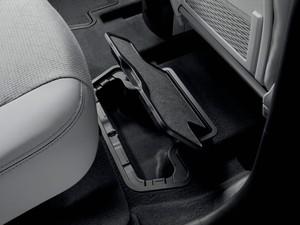 Porta objetos no assoalho do Peugeot 3008 (Foto: Divulgação)