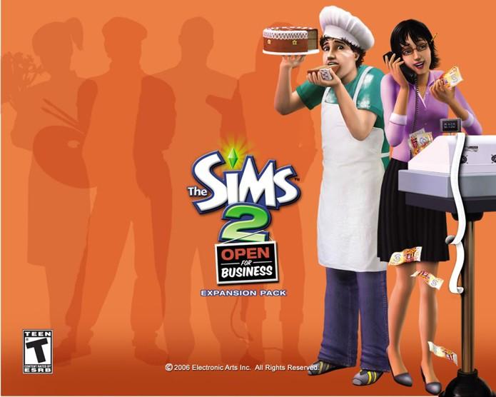 Abra um negócio em mais uma expansão de The Sims 2 (Foto: Divulgação/EA)