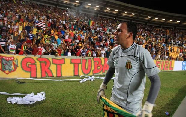Rodrigo Ramos renovou por dois anos com o Sampaio (Foto: Diego Chaves/O Estado)