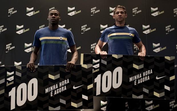 A Chance - Wallace e Jamerson, os vencedores da etapa brasileira da peneira (Foto: Caio Guatelli/Nike)