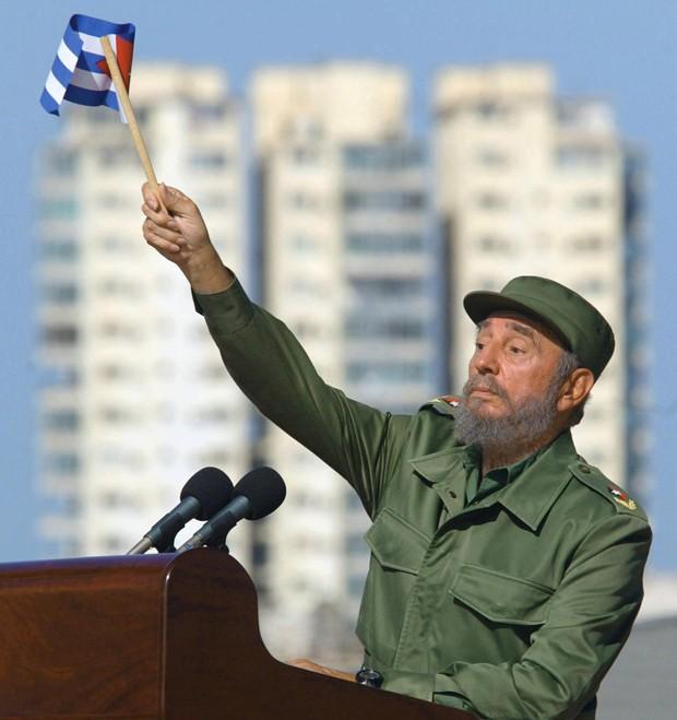Fidel Castro foi um dos personagens da política internacional durante mais de seis décadas  (Foto: Adalberto Roque/AFP)