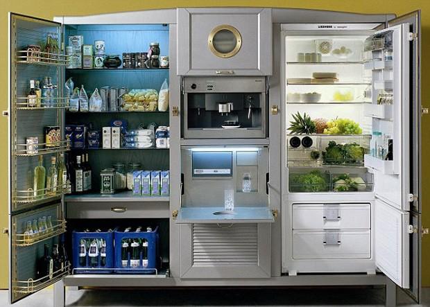 Com opções de personalização disponíveis, refrigerador pode custar ate R$ 81 mil (Foto: Divulgação)