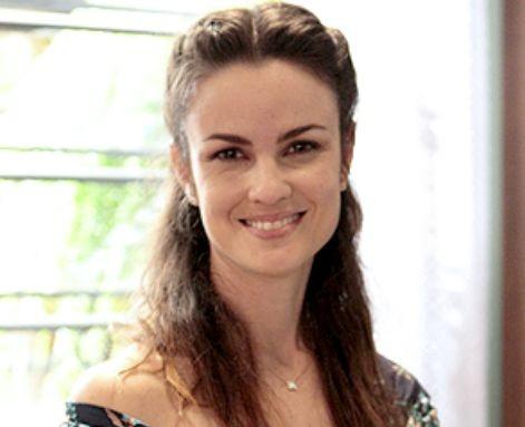 Carolina Kasting, a Gina de 'Amor à vida' (Foto: Divulgação/TV Globo)