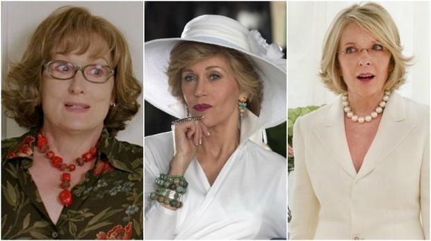 Meryl Streep, Jane Fonda e Diane Keaton (Foto: Reprodução)