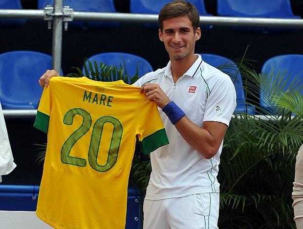 Marko Djokovic tênis Rio de Janeiro camisa seleção (Foto: Divulgação / João Pires)