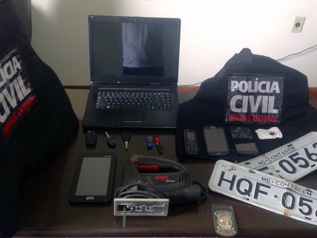 Polícia Civil Campos Altos operação Casa da Sorte (Foto: Polícia Civil Campos Altos/ Divulgação)