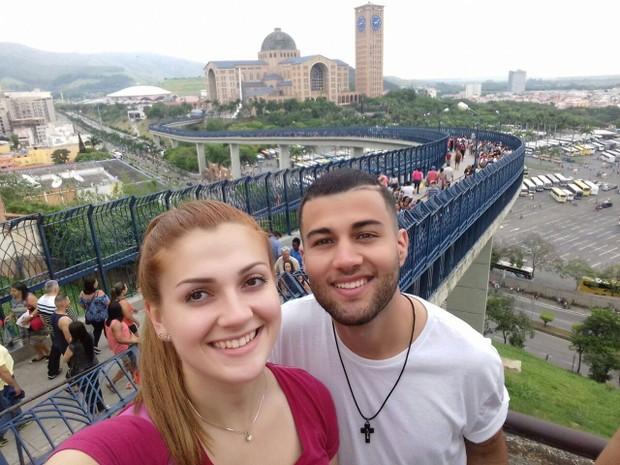 Jovens se conheceram em Pinhão, antes de entrar na faculdade (Foto: Arquivo pessoal)
