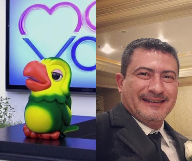 Tom Veiga, o Louro José (Foto: Globo e reprodução/Instagram)
