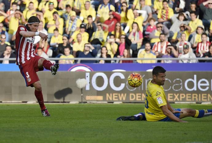 Filipe Luis, Las Palmas x Atlético de Madrid (Foto: Desiree Martin / AFP)