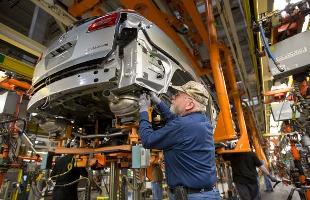 Fábrica GM (Foto: Divulgação)