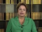Dilma admite fazer referendo ao invés de plebiscito (Reprodução/TV Globo)